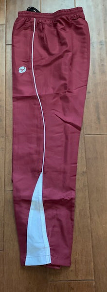 FIRSTAR PANTS MAROON/WHITE NEW WITH TAGS SALE!!!!