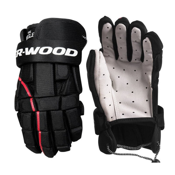 Sher-Wood Begley Ball Hockey Gloves