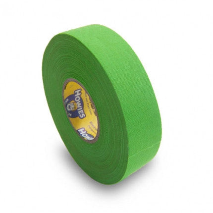 Howies Neon Green Cloth Hockey Tape (Single)