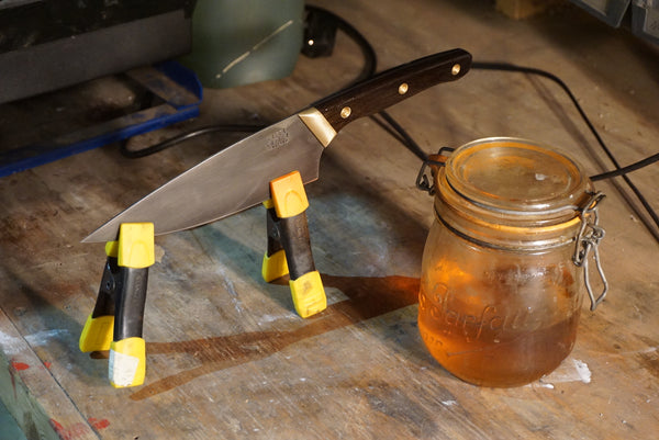 Kitchen knife making and examples