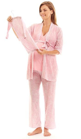 Analise Pink Pajama Set