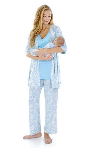Analise Blue Pajama Set