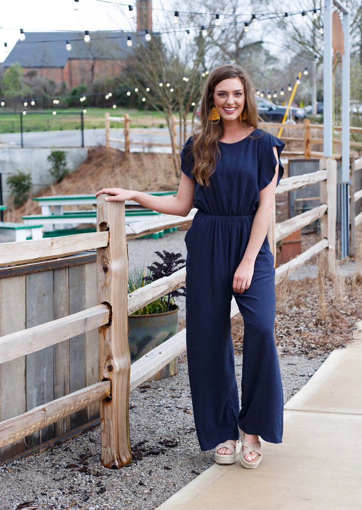 Katie Jumpsuit Navy