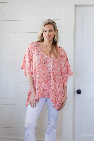 North Tunic Flamingo