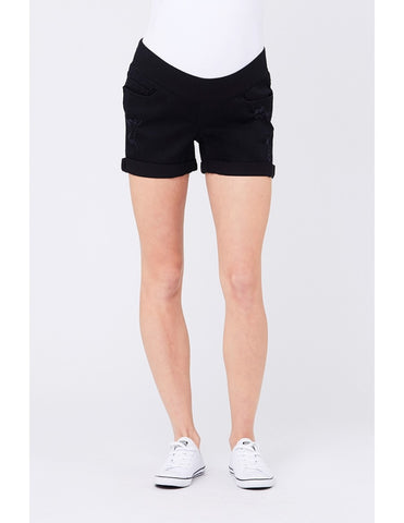 Black Baxter Boyfriend Shorts