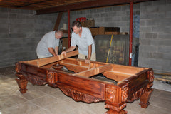 Pool Table Assembly Danny Veghs - How to put a pool table together