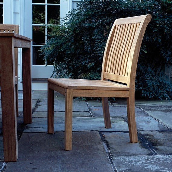 Chelsea Dining Side Chair, Outdoor Furniture, Kingsley Bate - Danny Vegh's