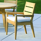 Algarve Dining Arm Chair, Outdoor Furniture, Kingsley Bate - Danny Vegh's