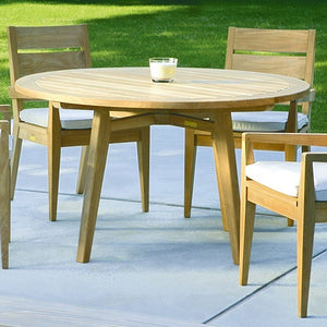 Algarve Round Dining Table, Outdoor Furniture, Kingsley Bate - Danny Vegh's