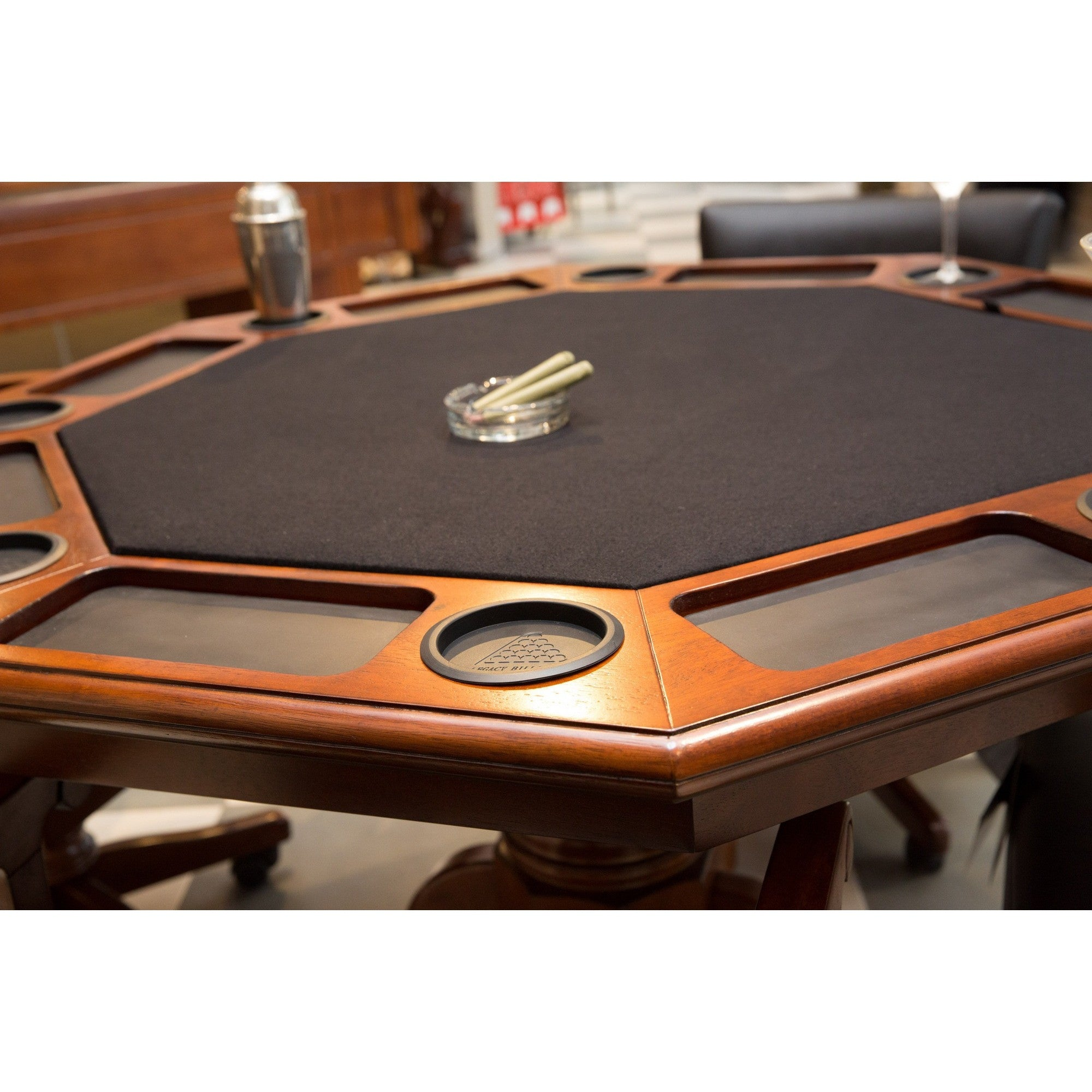 "Classic 2 in 1 48"" Octagon Game Table, Card Tables, Legacy - Danny Vegh's"
