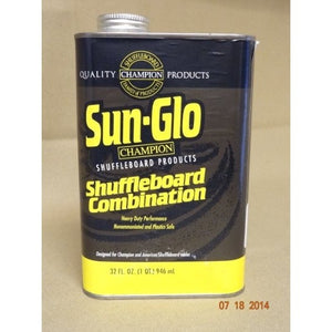 Step B -Shuffleboard Combination Cleaner & Polish (1 qt), Shuffleboard Accessories, Sun Glo - Danny Vegh's