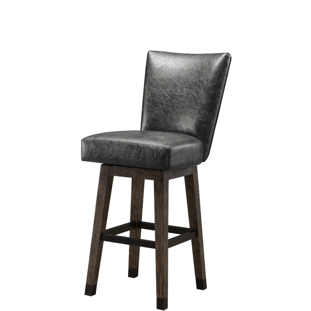 Signature Rustic Bar Stool With Back, Kitchen and Bar Stool, Legacy - Danny Vegh's