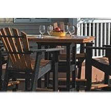 "42"" x 60"" Counter Table - Danny Vegh's - Outdoor Furniture - Breezesta - 2"