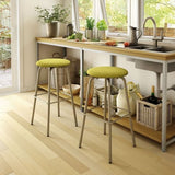Button Swivel Stool with Cushion, Kitchen and Bar Stool, Amisco - Danny Vegh's