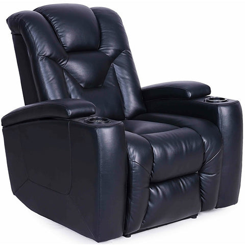 Galaxy Power Leather Recliner