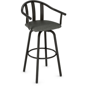 Gatlin Swivel Stool, Kitchen and Bar Stool, Amisco - Danny Vegh's