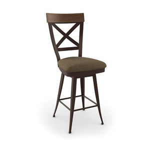 Kyle Swivel Stool, Kitchen and Bar Stool, Amisco - Danny Vegh's