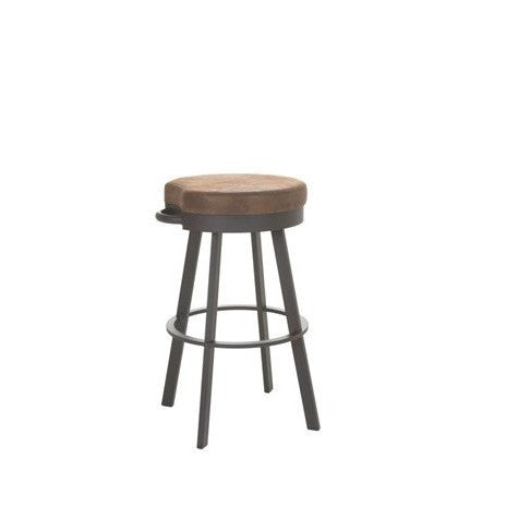 Bryce Swivel Stool, Kitchen and Bar Stool, Amisco - Danny Vegh's