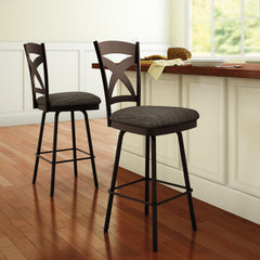 Marcus Swivel Stool - Danny Vegh's - Kitchen and Bar Stool - Amisco - 2