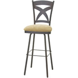 Marcus Swivel Stool, Kitchen and Bar Stool, Amisco - Danny Vegh's
