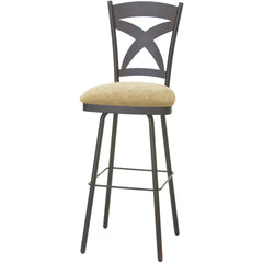 Marcus Swivel Stool - Danny Vegh's - Kitchen and Bar Stool - Amisco - 1