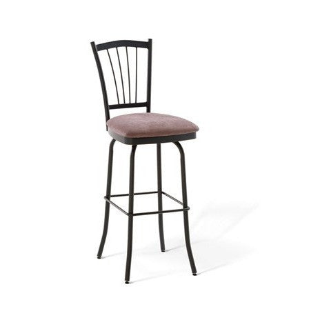 Naomi Swivel Stool, Kitchen and Bar Stool, Amisco - Danny Vegh's