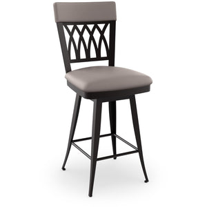 Oxford Swivel Stool, Kitchen and Bar Stool, Amisco - Danny Vegh's