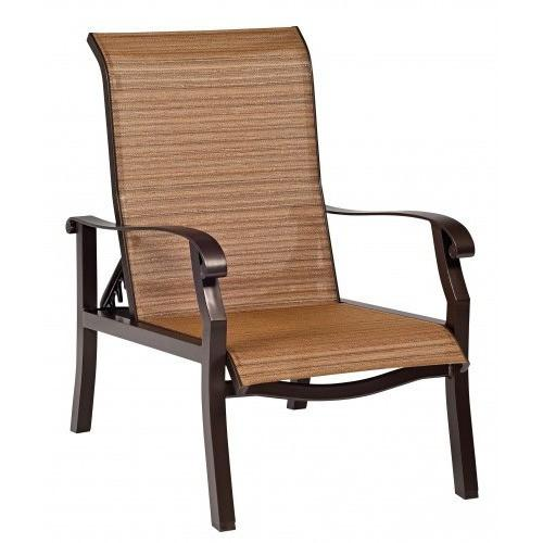 Cortland Sling Adjustable Lounge Chair, Outdoor Furniture, Woodard - Danny Vegh's