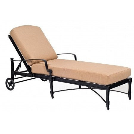 Isla Adjustable Chaise Lounge, Outdoor Furniture, Woodard - Danny Vegh's