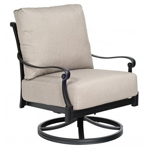 Wiltshire Rocking Lounge Chair, Outdoor Furniture, Woodard - Danny Vegh's