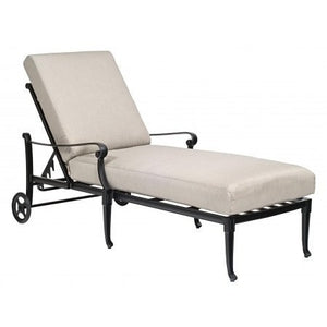 Wiltshire Adjustable Chaise Lounge - Stackable, Outdoor Furniture, Woodard - Danny Vegh's