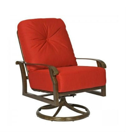 Cortland Cushion Swivel Rocking Lounge Chair, Outdoor Furniture, Woodard - Danny Vegh's