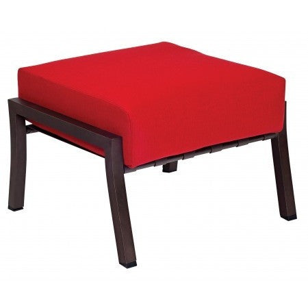 Cortland Cushion Ottoman, Outdoor Furniture, Woodard - Danny Vegh's