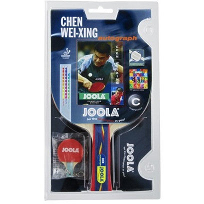 Chen Weixing Autograph Racket - Danny Vegh's - Ping Pong Accessories - Joola