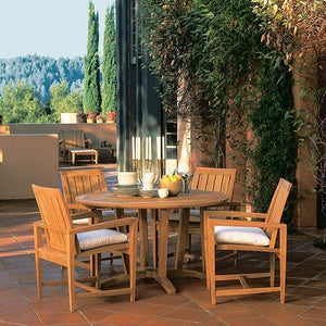 Amalfi Dining Arm Chair, Outdoor Furniture, Kingsley Bate - Danny Vegh's