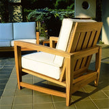 Amalfi Deep Seating Lounge Chair, Outdoor Furniture, Kingsley Bate - Danny Vegh's