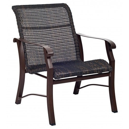Cortland Woven Lounge Chair, Outdoor Furniture, Woodard - Danny Vegh's