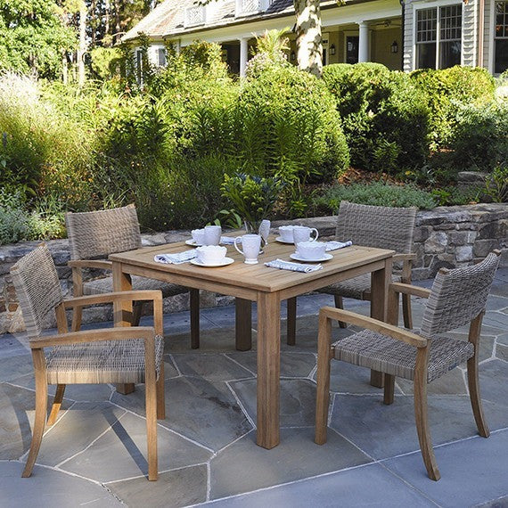 Wainscott Square Dining Tables, Outdoor Furniture, Kingsley Bate - Danny Vegh's