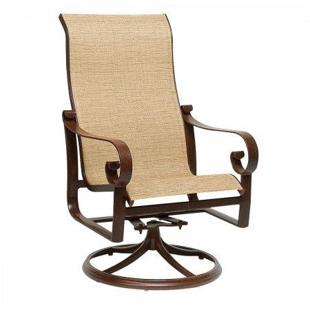 Belden Sling High Back Swivel Rocker