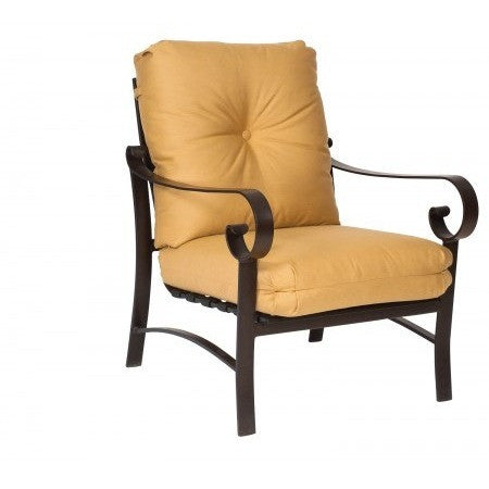 Belden Cushion Stationary Lounge Chair, Outdoor Furniture, Woodard - Danny Vegh's