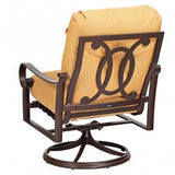 Belden Cushion Swivel Rocking Lounge Chair, Outdoor Furniture, Woodard - Danny Vegh's
