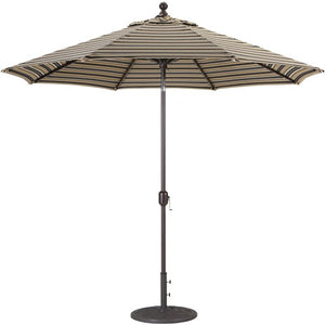 9 ft Deluxe Autotilt Aluminum Market Umbrella, Outdoor Furniture, Galtech - Danny Vegh's