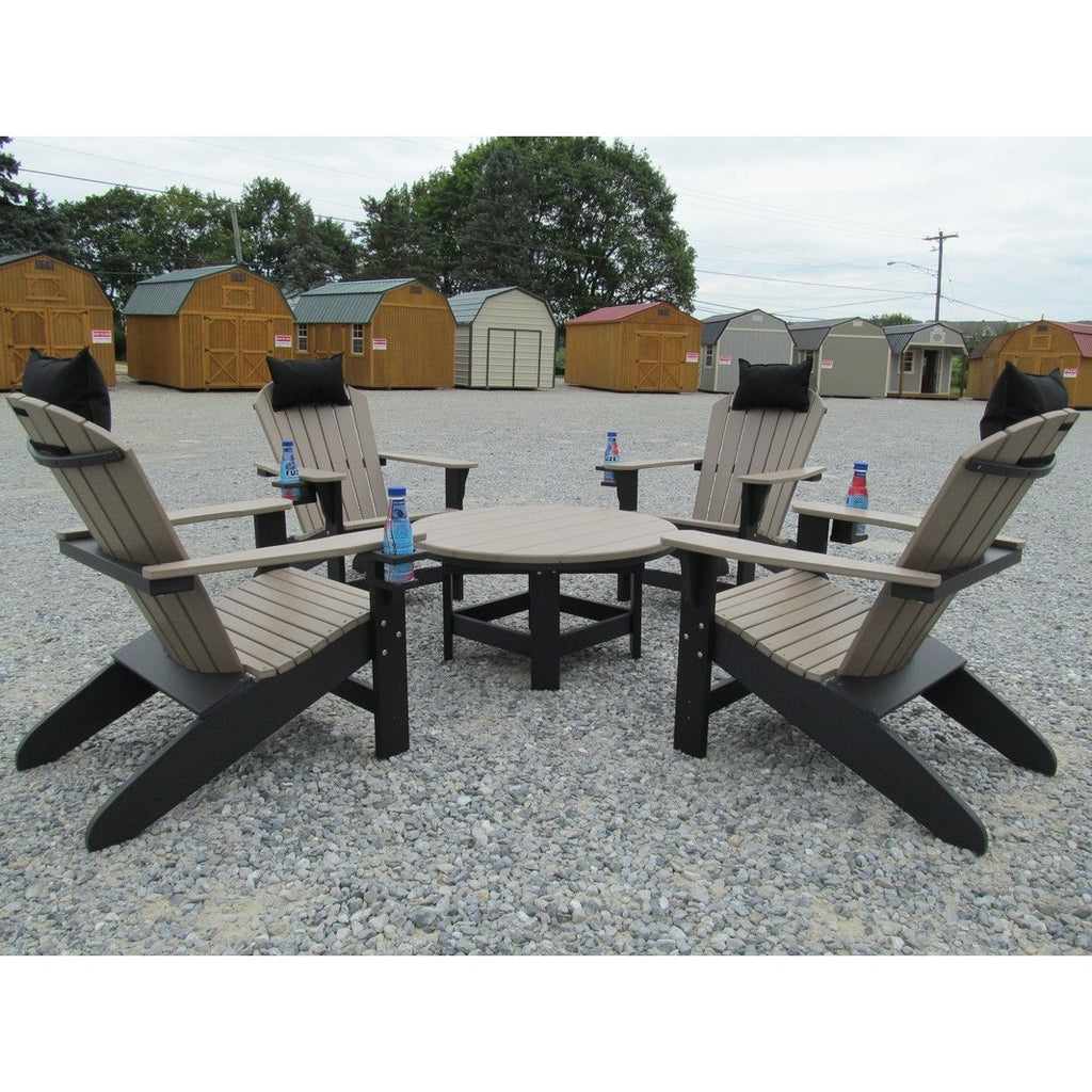 "36"" Round Conversation Table - Danny Vegh's - Outdoor Furniture - Breezesta - 2"