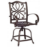 Holland Swivel Counter Stool, Outdoor Furniture, Woodard - Danny Vegh's