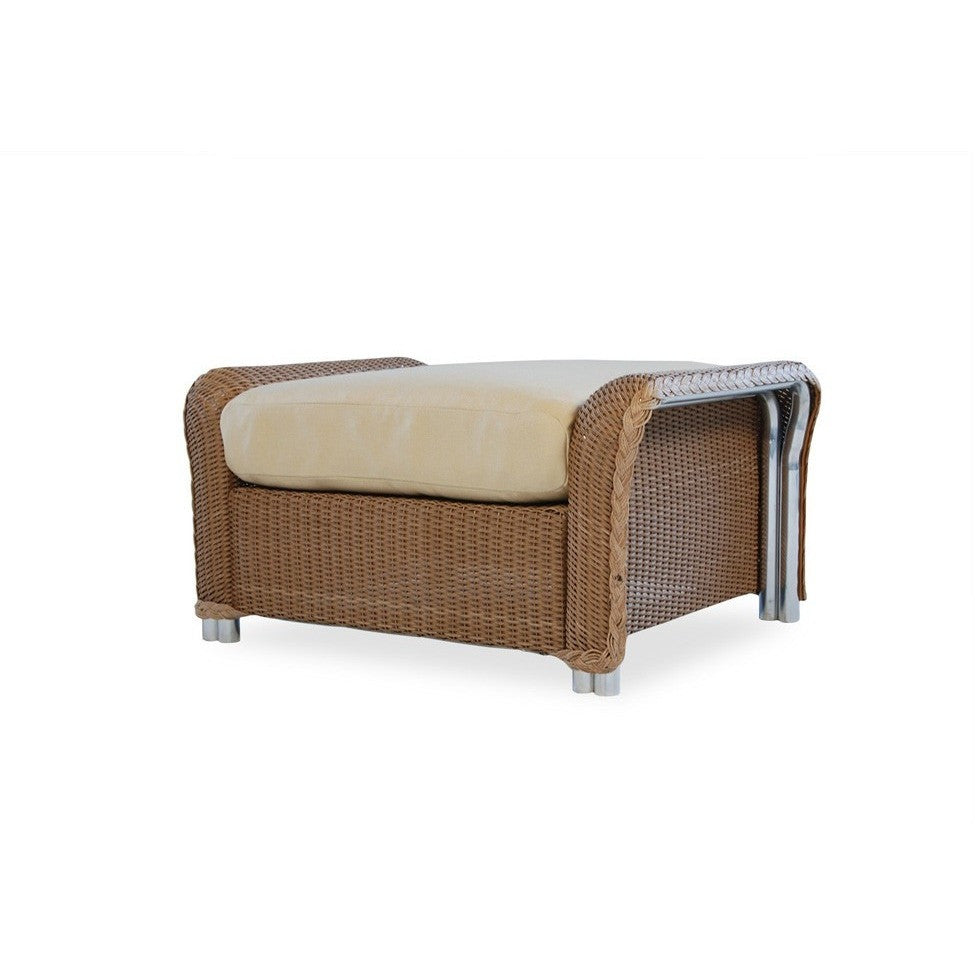Reflections Ottoman, Outdoor Furniture, Lloyd Flanders - Danny Vegh's