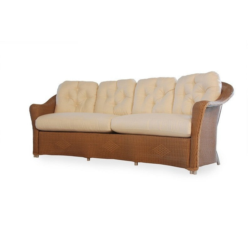 Reflections Crescent Sofa, Outdoor Furniture, Lloyd Flanders - Danny Vegh's