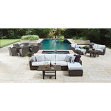 Augusta Armless Sectional Unit, Outdoor Furniture, Woodard - Danny Vegh's