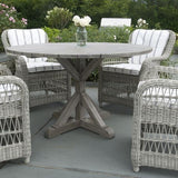 "Brussels 50"" Round Dining Table, Outdoor Furniture, Kingsley Bate - Danny Vegh's"