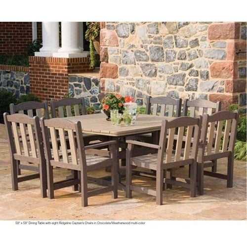 "42"" x 42"" Dining Table - Danny Vegh's - Outdoor Furniture - Breezesta - 2"