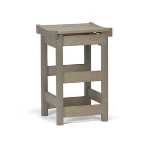 Contoured Seat Counter Stool - Danny Vegh's - Outdoor Furniture - Breezesta - 1